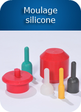 Moulage silicone