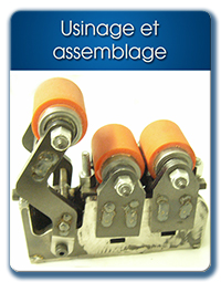 Usinage et assemblage